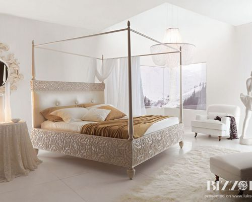 BIZZ_SP0010 - Sodobna luksuzne spalnica / Contemporary luxury bedroom Bizzotto - Rebecca