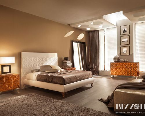 BIZZ_SP0013 - Sodobna luksuzne spalnica / Contemporary luxury bedroom Bizzotto - Rebecca