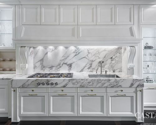 CAST_KU0006 - Sodobna stilna kuhinja /  Contemporary luxury kitchen Castagna Cucine - Roma